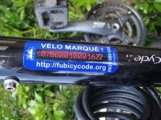 image Marquage Bicycode